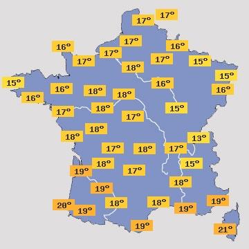 Rennes pr visions m t o 15 jours le premier site m t o pour rennes et sa r gion gratuit - Meteo rennes samedi ...