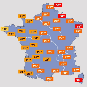 Vigilance orage violent foudre gr le inondations et - Meteo rennes samedi ...